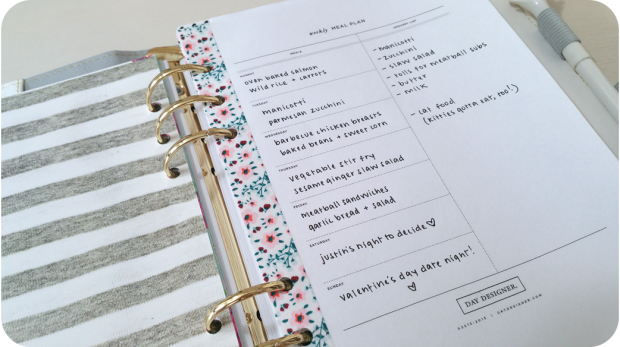 Meal Planner 2