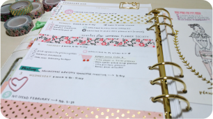 Planner Spread February 1-7