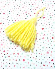 Planner Tassel Yellow