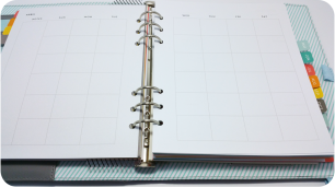 Studio Calico Hello Forever Planner Monthly